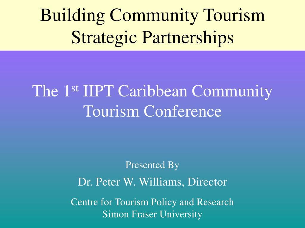 Building Community Tourism