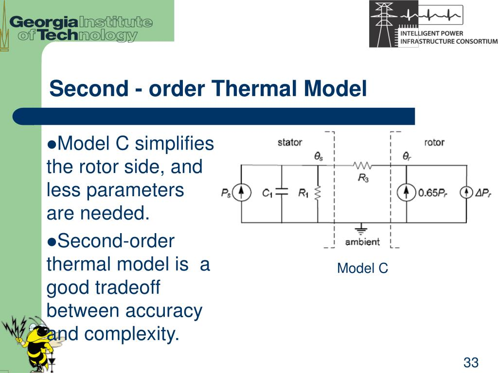 Second - order Thermal Model