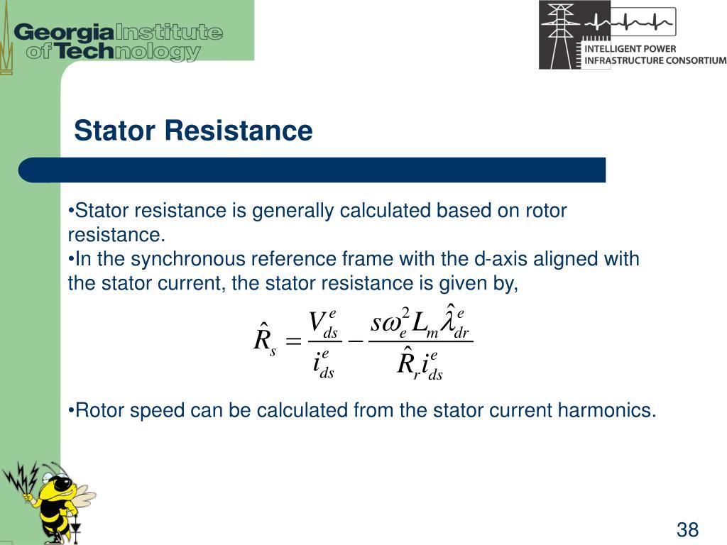 Stator Resistance