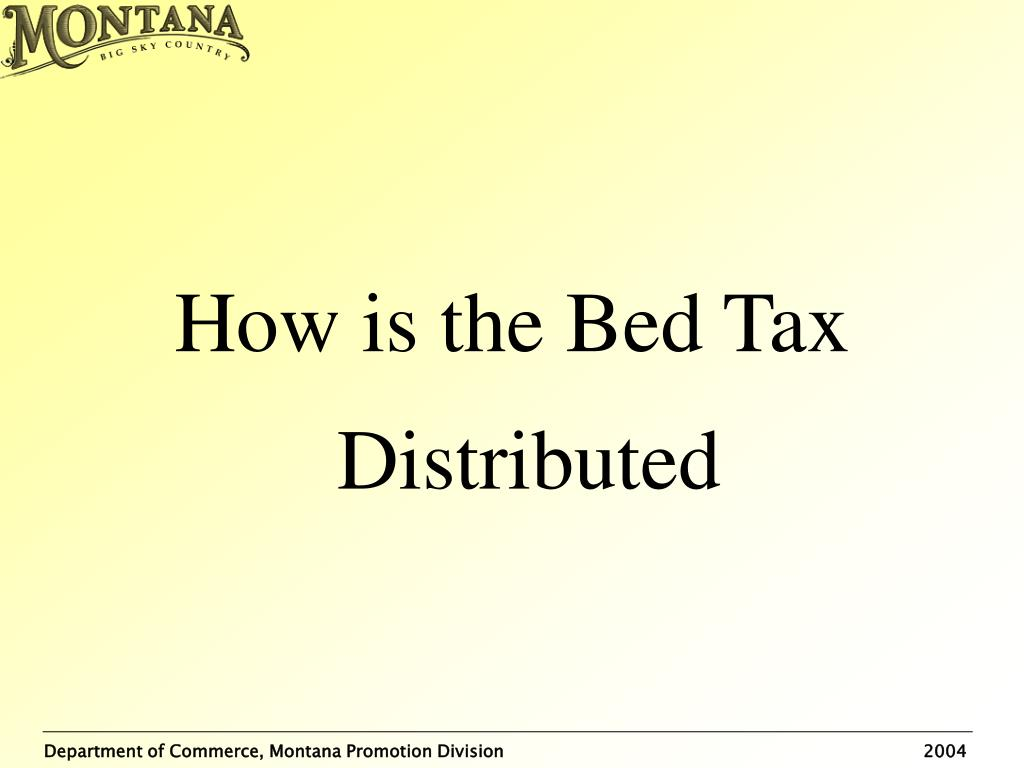 How is the Bed Tax