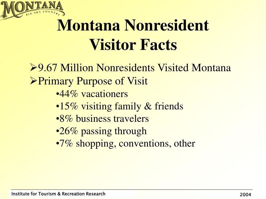 Montana Nonresident
