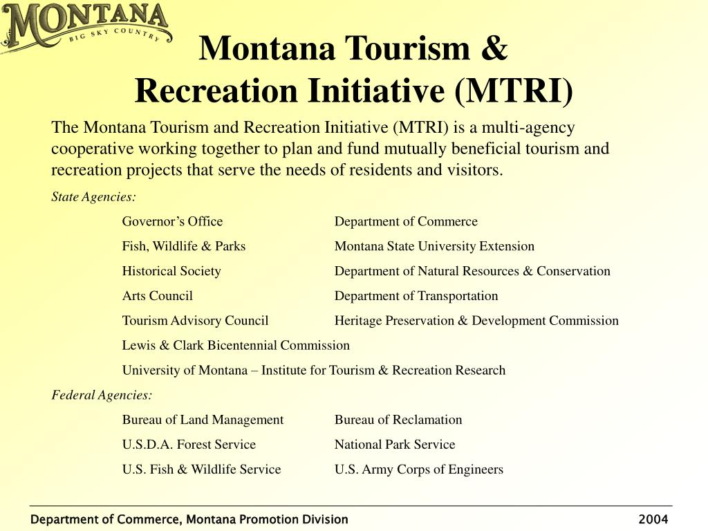 Montana Tourism &