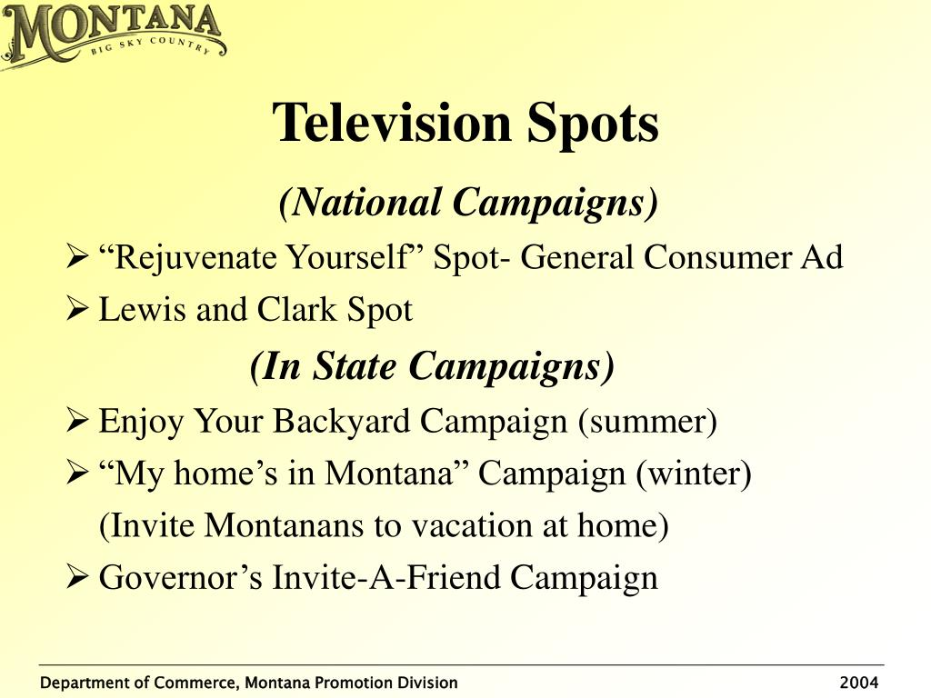 Television Spots
