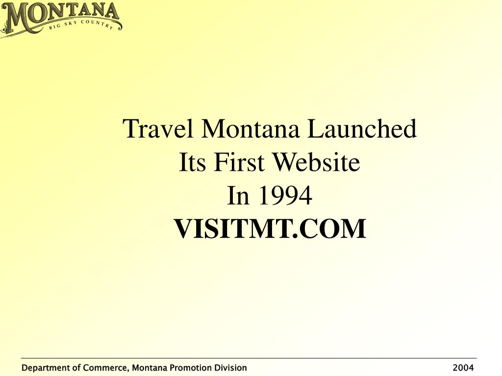 Travel Montana Launched