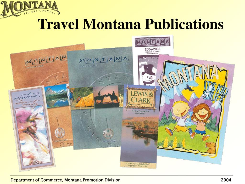Travel Montana Publications