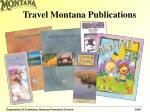 travel montana publications