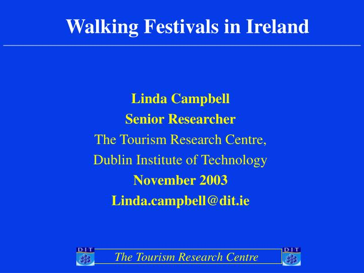 Walking Festivals in Ireland