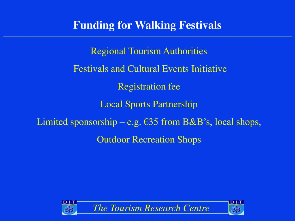 Funding for Walking Festivals