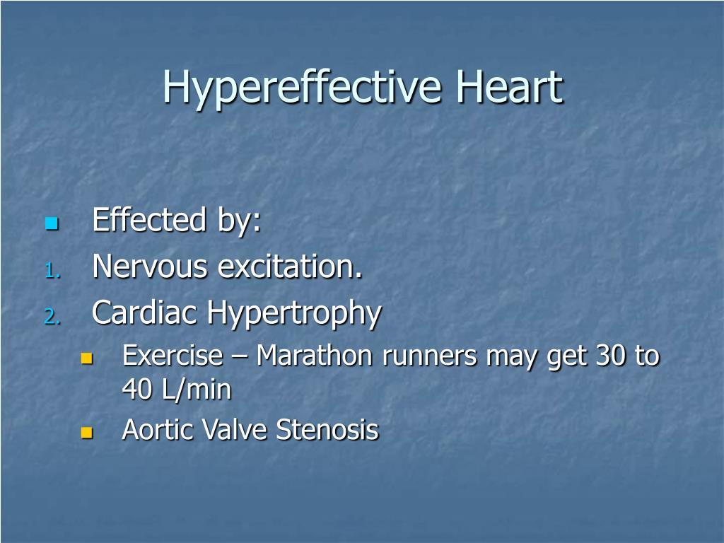 Hypereffective Heart