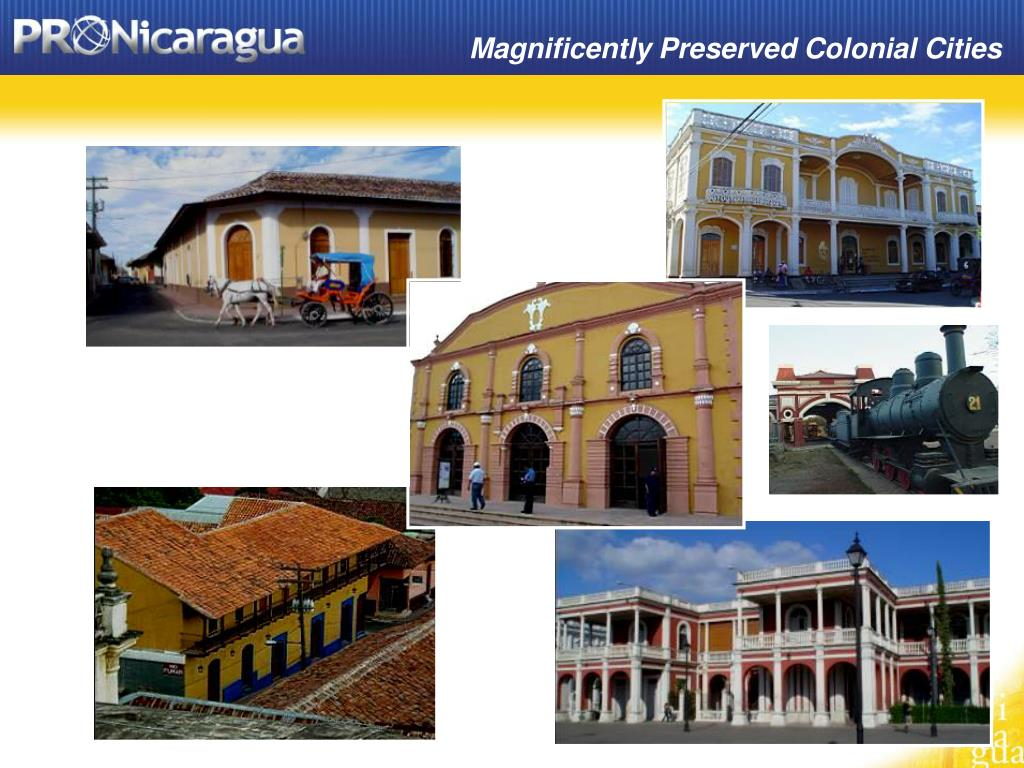 Magnificently Preserved Colonial Cities