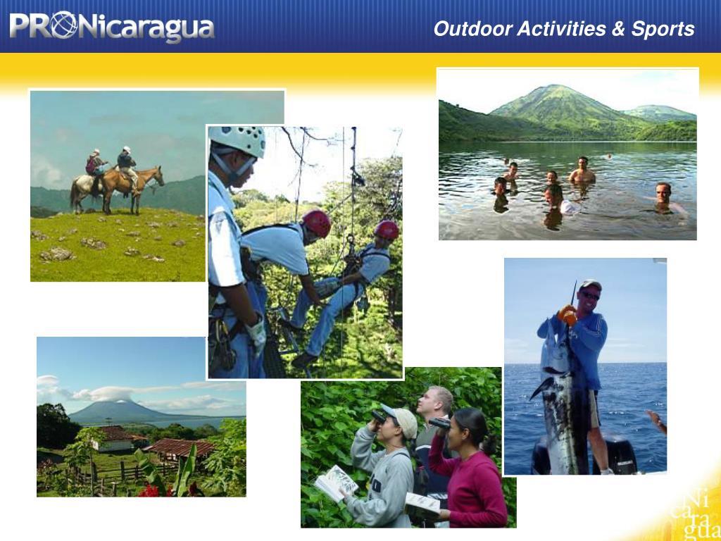 Outdoor Activities & Sports