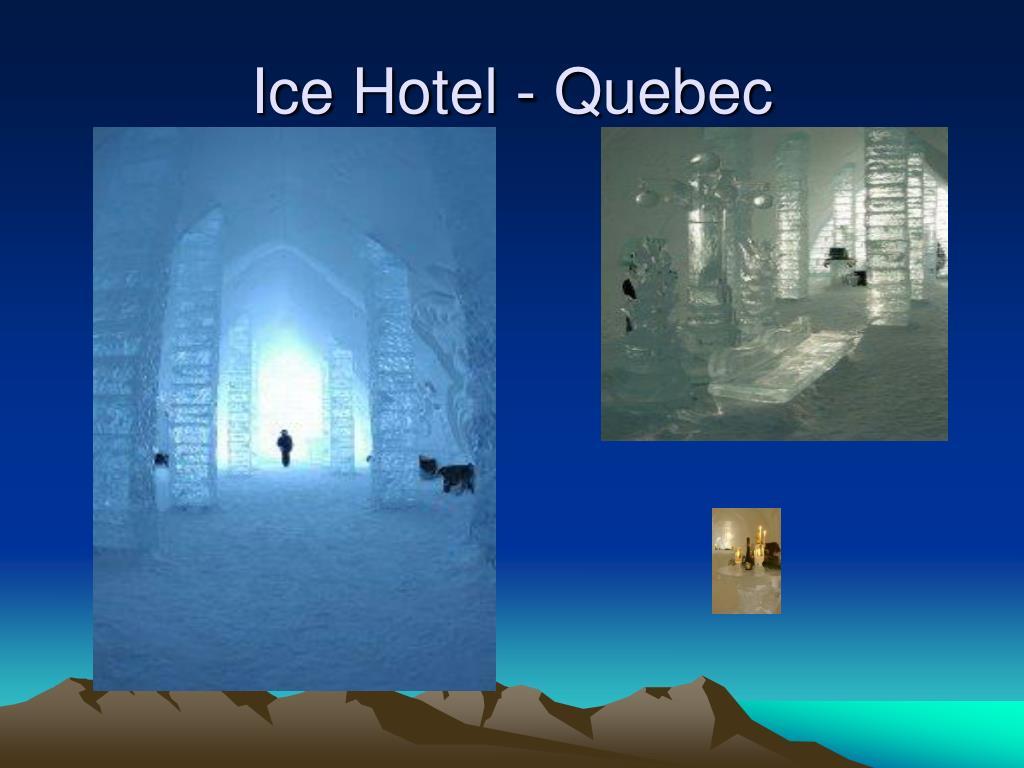 Ice Hotel - Quebec