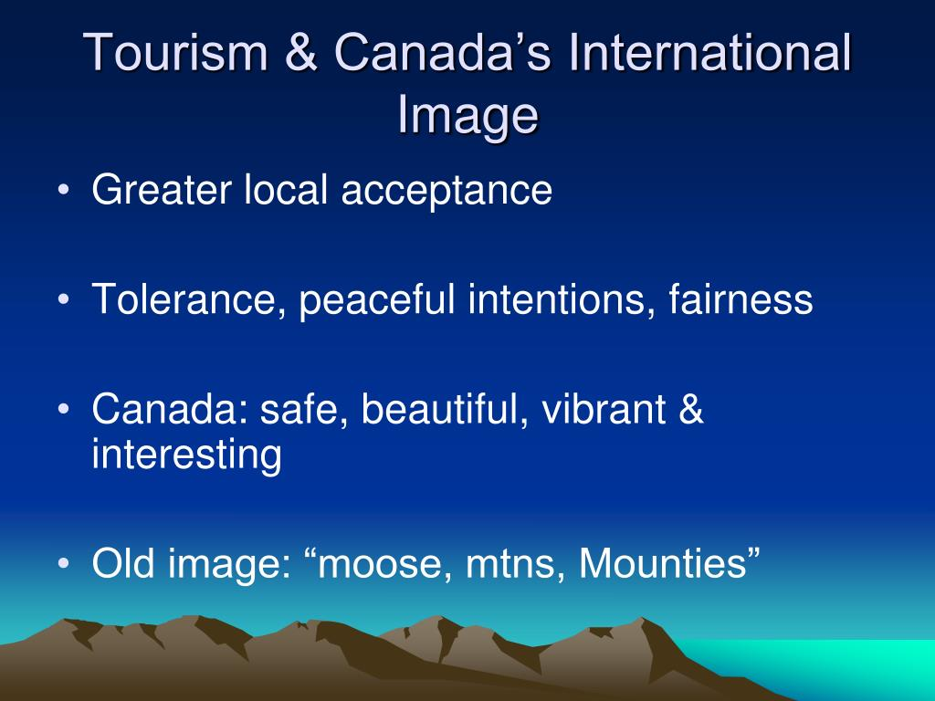 Tourism & Canada's International Image