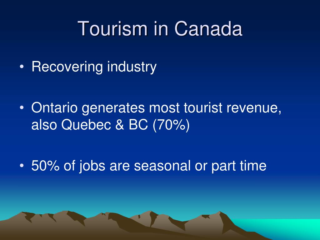 Tourism in Canada