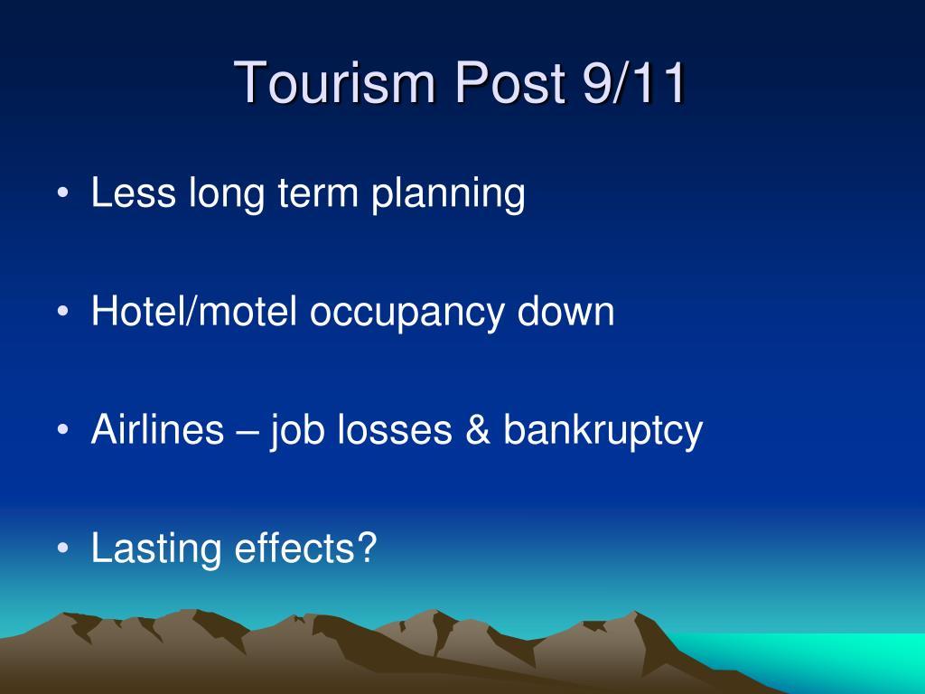 Tourism Post 9/11