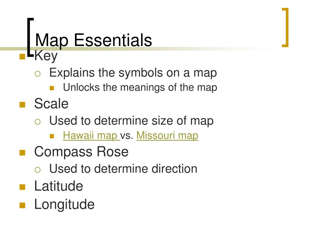 Map Essentials