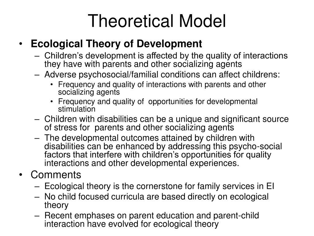 Theoretical Model
