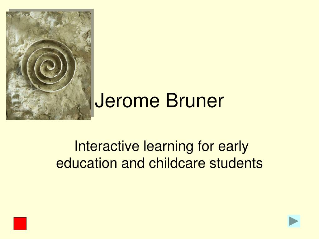 jerome bruner discovery learning pdf