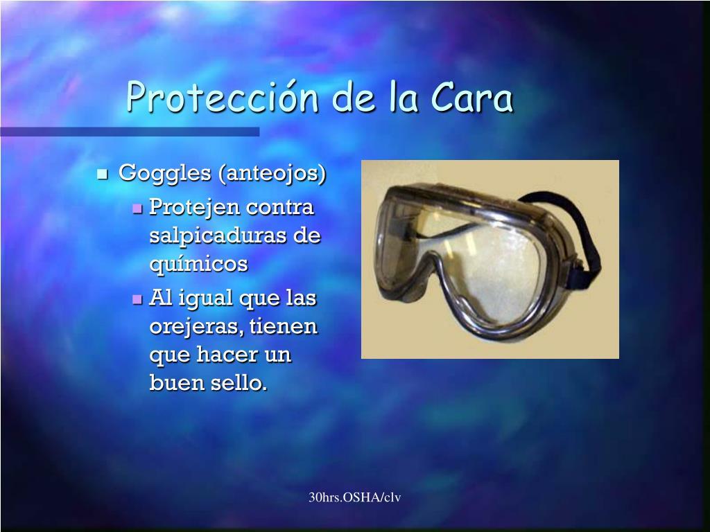 Protección de la Cara