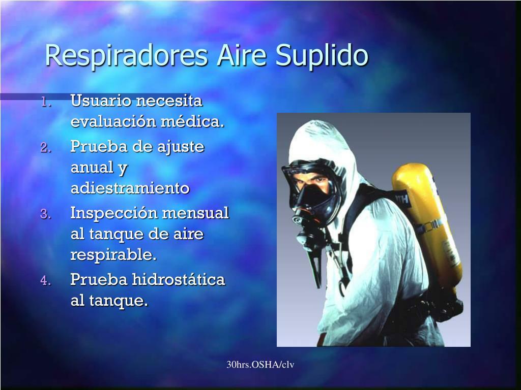 Respiradores Aire Suplido