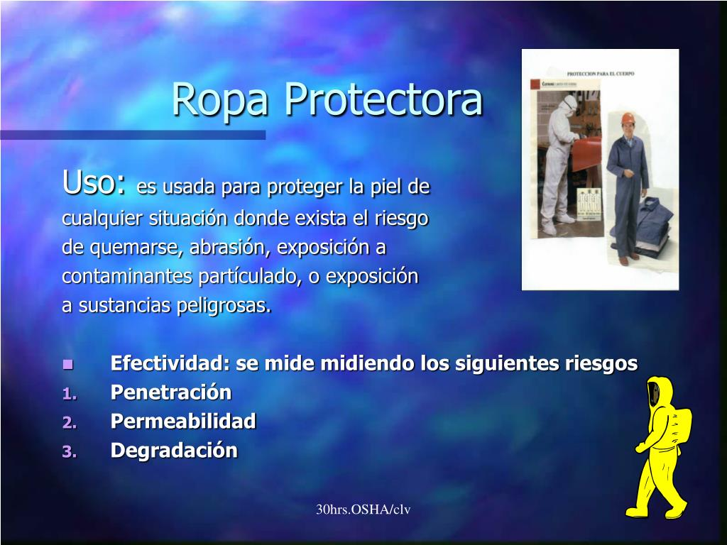 Ropa Protectora