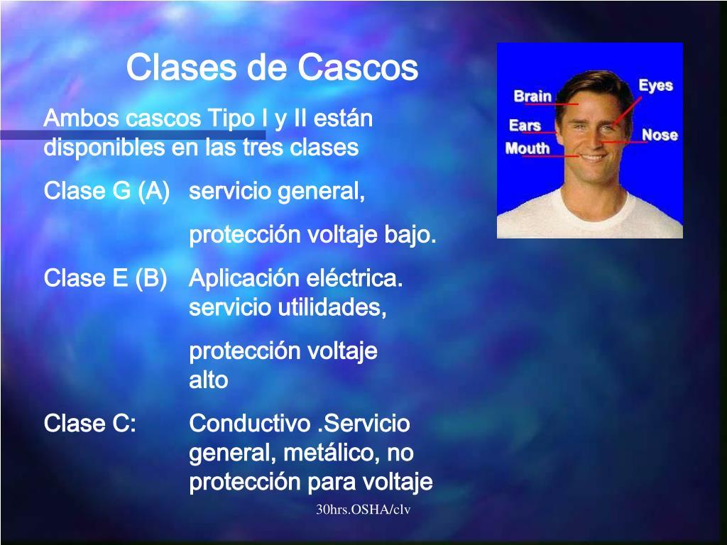 Clases de Cascos