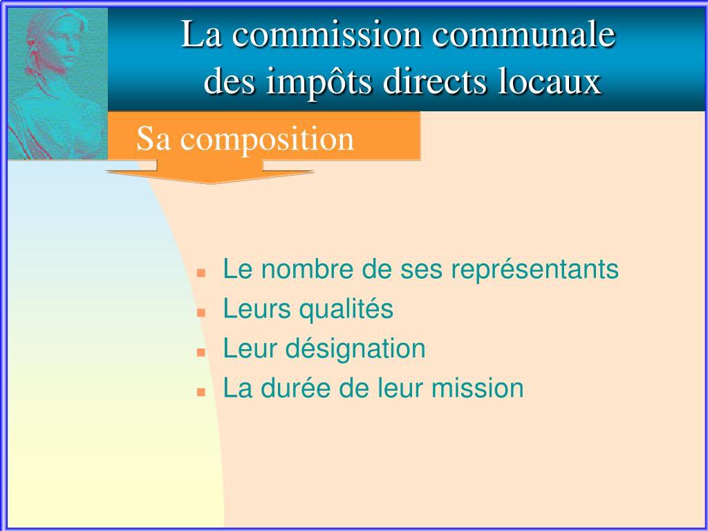 La commission communale