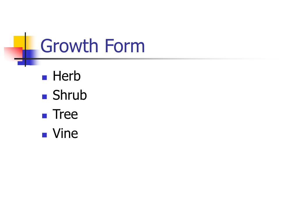 Growth Form
