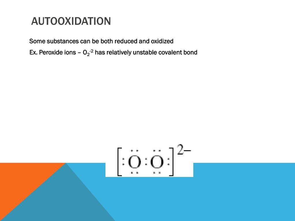Autooxidation