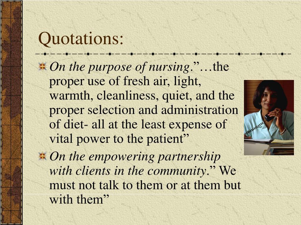 nursing quotes florence nightingale apa format