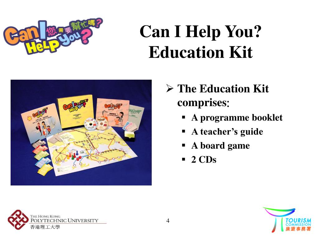 Can I Help You? Education Kit