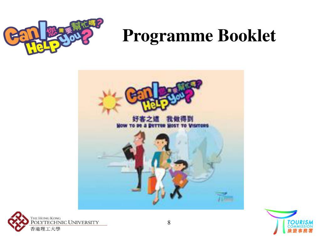 Programme Booklet