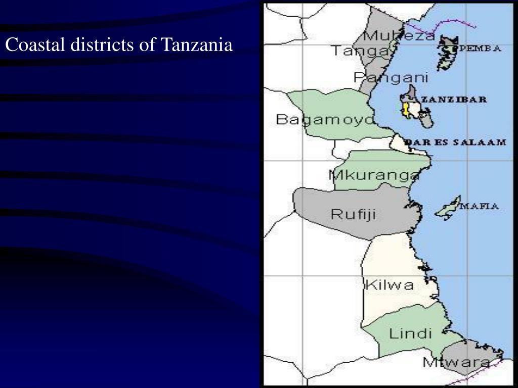 Coastal districts of Tanzania