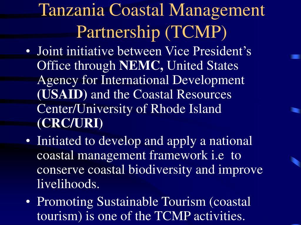 Tanzania Coastal Management Partnership (TCMP)