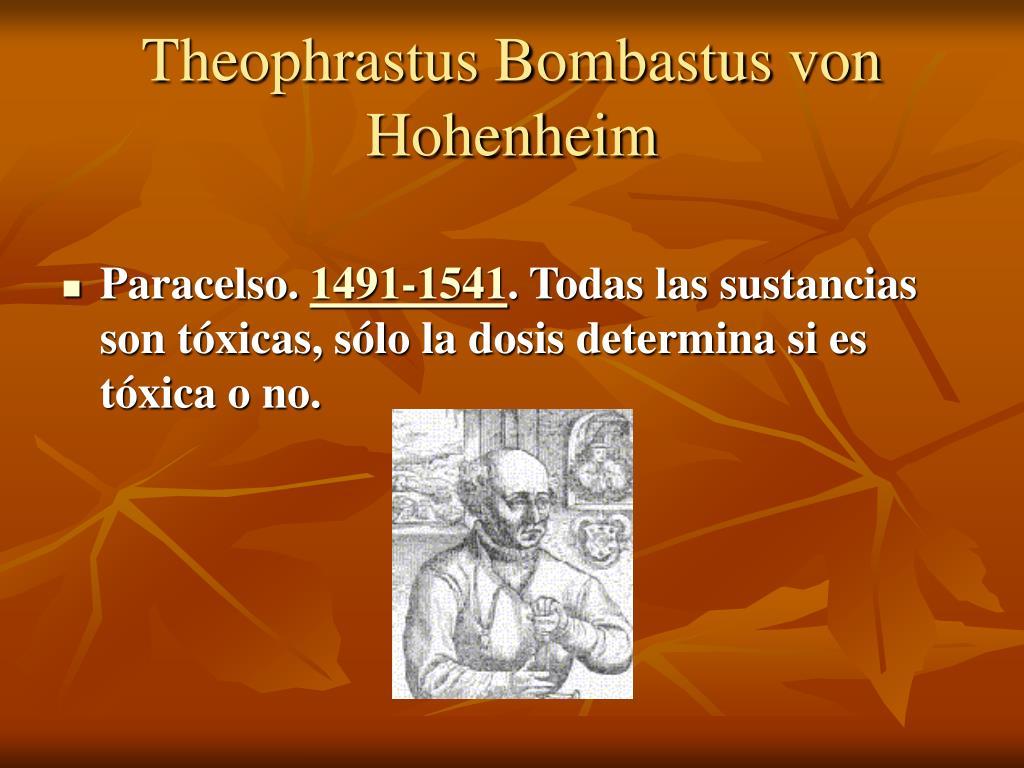 Theophrastus Bombastus von Hohenheim