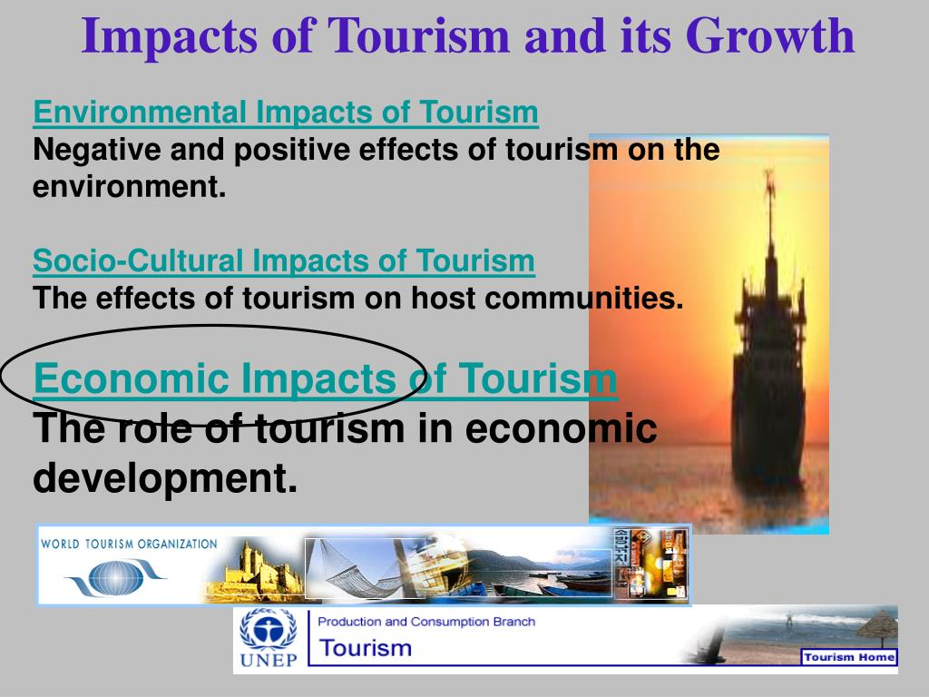 Impacts of Tourism and its Growth