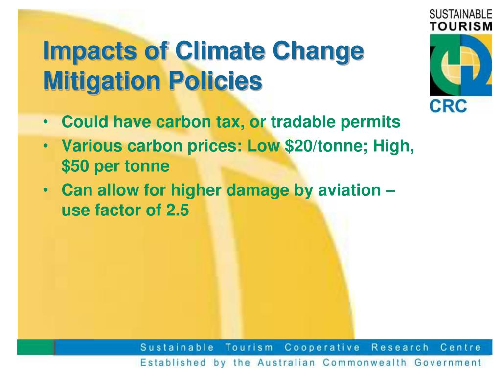 Impacts of Climate Change Mitigation Policies