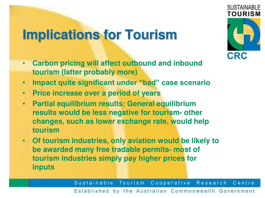 Implications for Tourism