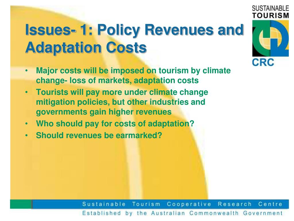 Issues- 1: Policy Revenues and Adaptation Costs