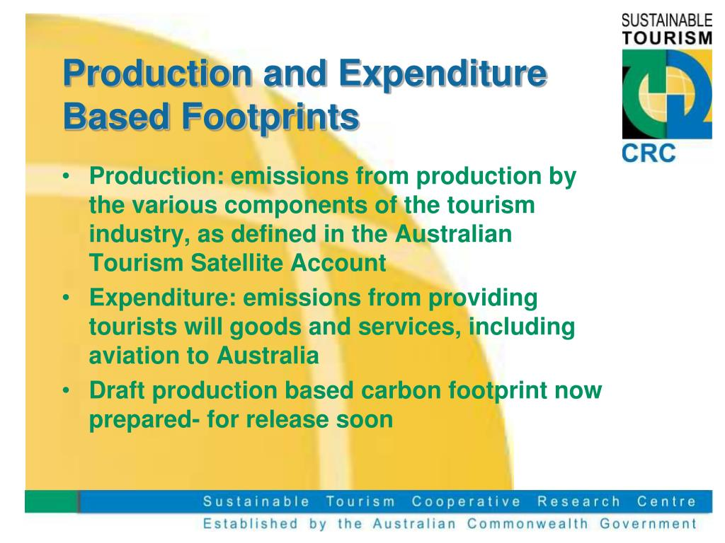 Production and Expenditure Based Footprints