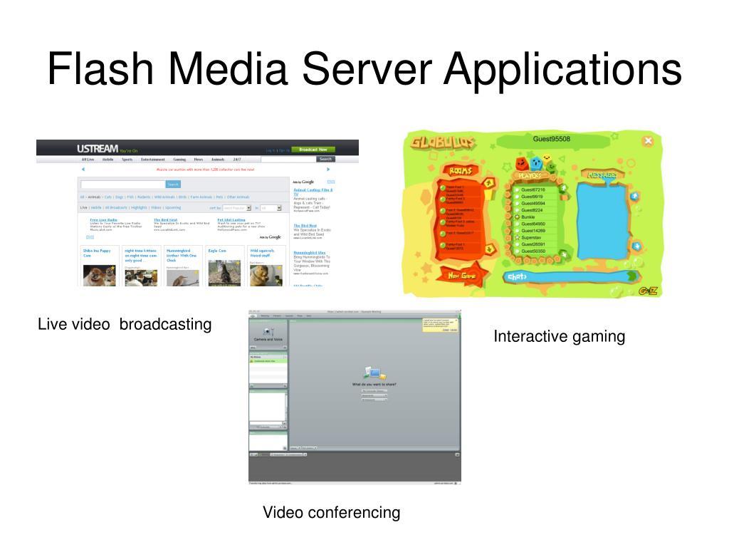 Flash Media Server Applications