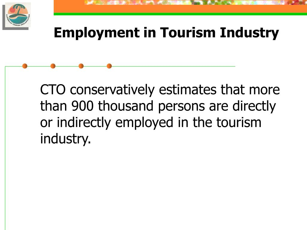 Employment in Tourism Industry