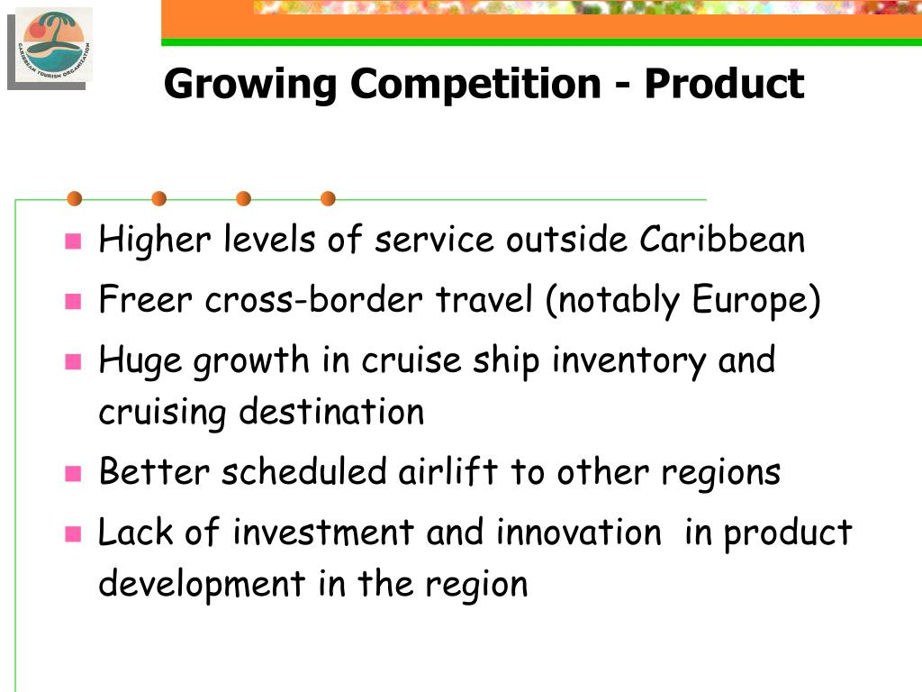 Growing Competition - Product