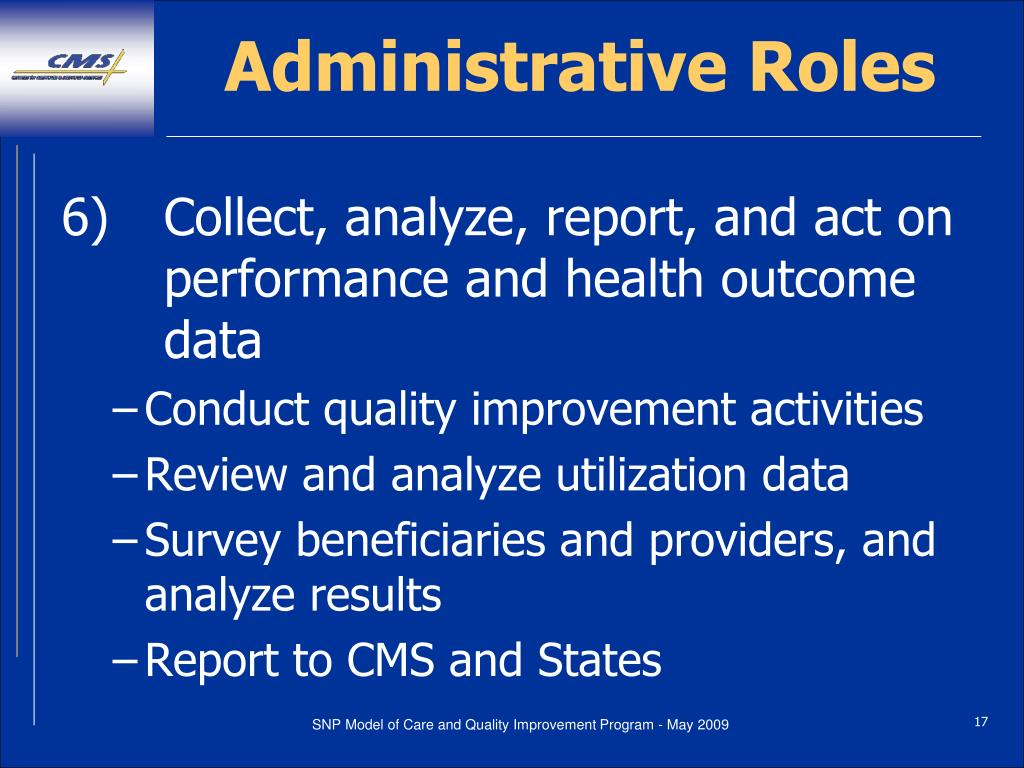 Administrative Roles