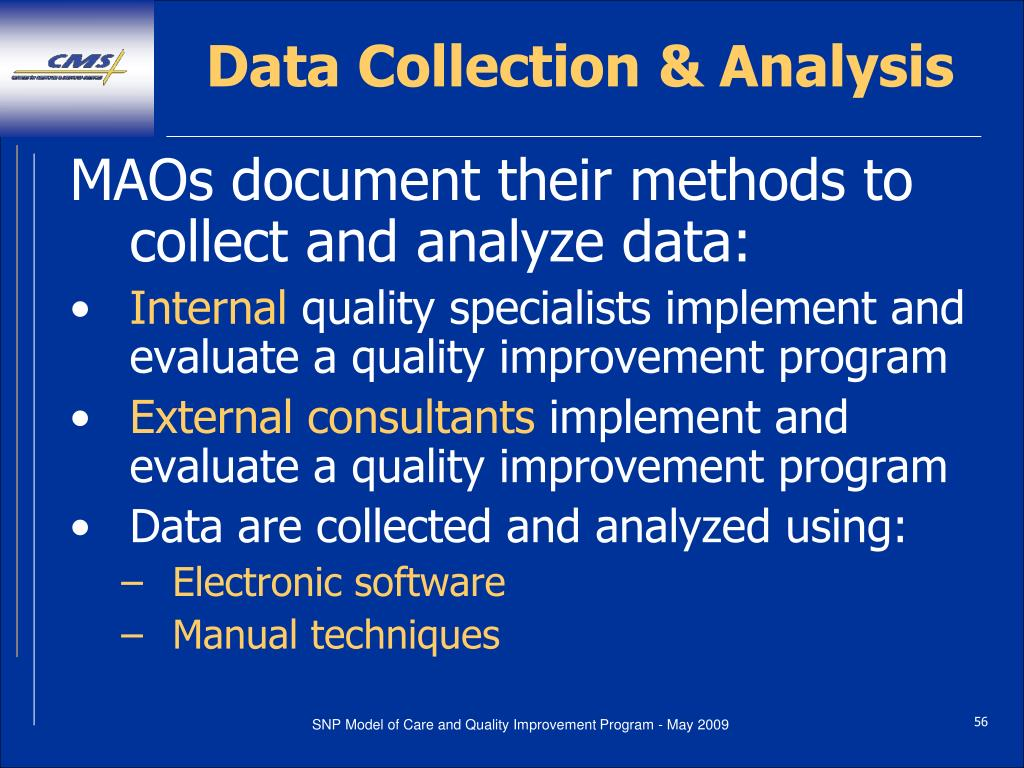 Data Collection & Analysis