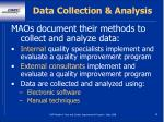 data collection analysis