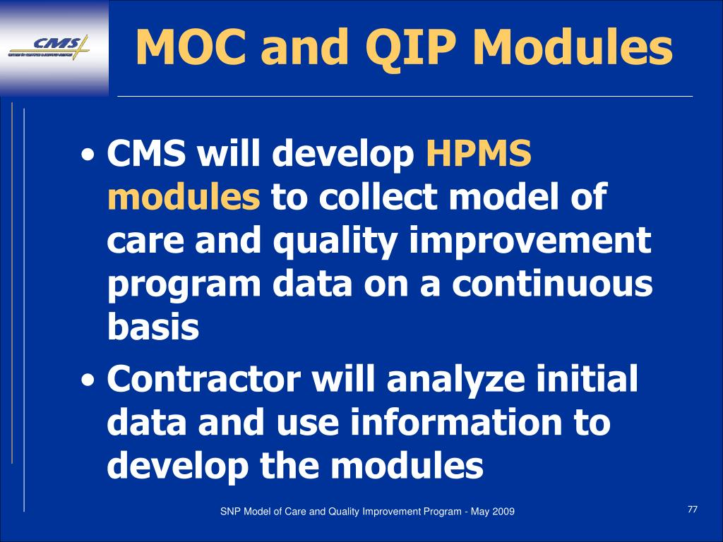 MOC and QIP Modules