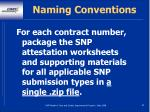 naming conventions83