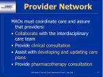 provider network32