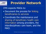 provider network34